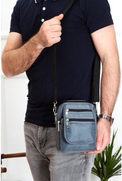 Kindfox Saten Kumaş Çok Bölmeli El Ve Omuz Çantası   Postacı Çantası   S