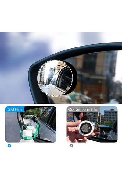 Polhammobile Polham 2 Adet Kör Nokta Aynası Geri Görüş Aynası