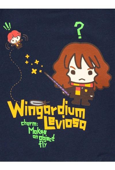 Harry Potter Kız Bebek Sweatshirt Lacivert