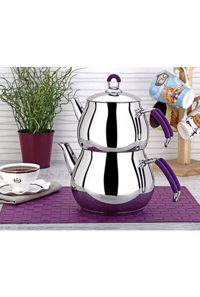 Viola Maxi Küre Çaydanlık - Büyük Boy