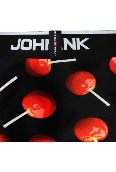 John Frank JFBD296-APPLE Candy Erkek Boxer Desenli