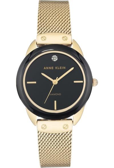 Anne Klein AK-3258BKGB Kadın Kol Saati