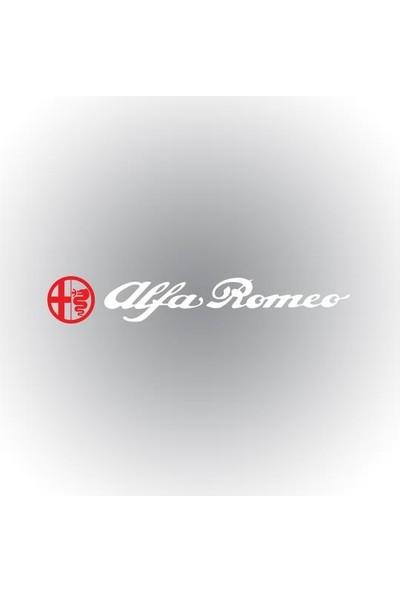 Otografik - Alfa Romeo Ön Cam Oto Sticker