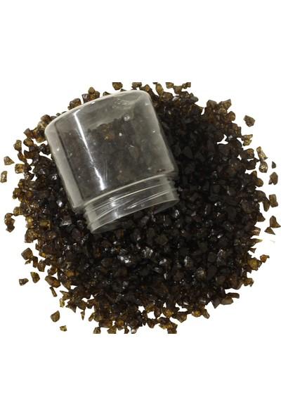 Akcihan Epoksi Reçine Için Renkli Cam Kırıkları Amber Koyu 500 gr 4-8 mm