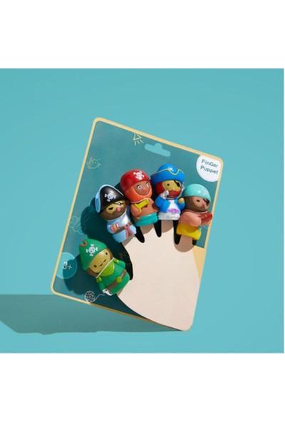 Ysn Toys Özel Seri 5,li Parmak Kukla Seti