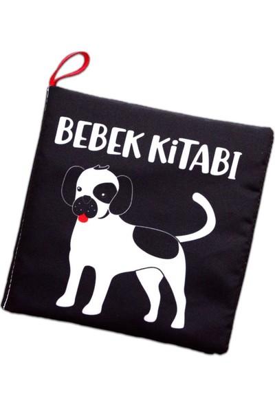 Tox Siyah Beyaz Evcil Hayvanlar Kumaş Sessiz Kitap T137 - Bez Kitap , Eğitici Oyuncak , Yumuşak ve Hışırtılı