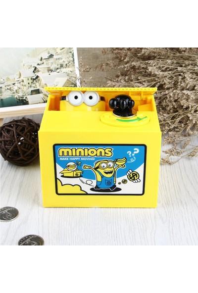 Bent Çocuk Sarı Hırsız - Minions - Pilli Kumbara