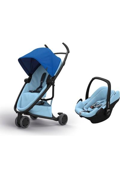 Quinny Zapp Flex Travel Sistem Bebek Arabası / Blue On Sky
