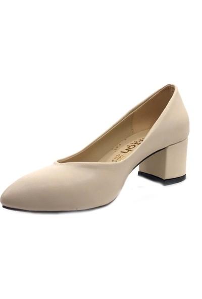 Gizzah Ten Alçak Topuklu Günlük Bayan Ayakkabı