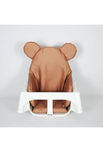 Dear Deer Love Mama Sandalyesi Minderi Tarçın Ayıcık