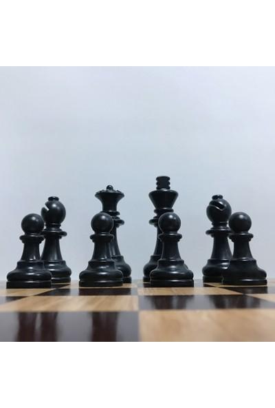 Yeni Satranç Profesyonel Satranç Taşları - Mdf Zemin