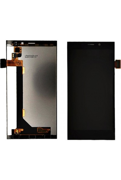 General Mobile Discovery Elite E7 Için Lcd+Dokunmatik Siyah
