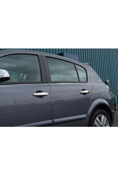Askrom Opel Astra H Hb Krom Kapı Kolu 2004 Üzeri 4 Kapı Paslanmaz Çelik