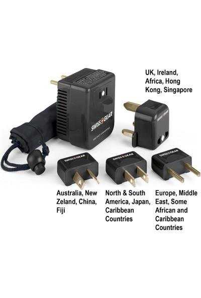 Swiss Gear Seyahat Dönüştürücü Adaptör Fiş Kiti (Yurt Dışından)