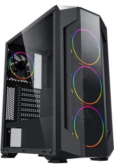 """Dragos ATM00000372 Intel Core i5 10400F 8GB 256GB SSD RX550 Freedos 23.8"""" FHD Masaüstü Bilgisayar"""