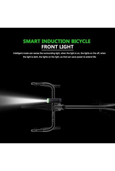 Schulzz T6 LED 1200 Mah Su Geçirmez Far Bisiklet Feneri
