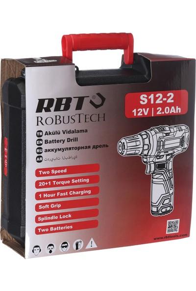 RBT Robustech S12-2 Li Akülü Vidalama 12V 2 Ah