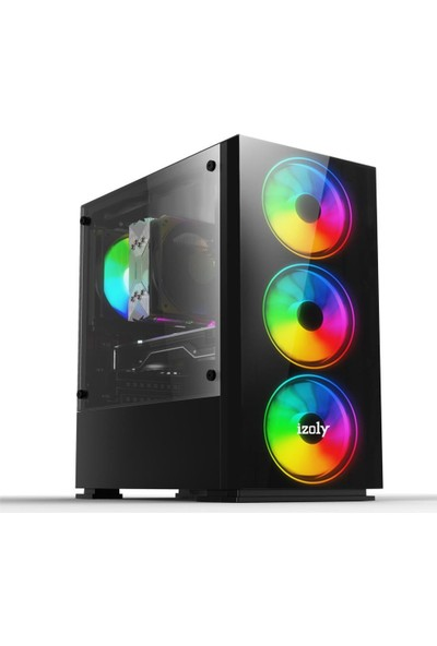 İzoly Dexter AMD Ryzen 5 3500X 16GB 512GB SSD RX550 Masaüstü Bilgisayar