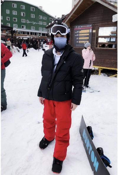 Berfuğ Kıran Içi Şardonlu Kargo Cepli Kayak Pantolonu