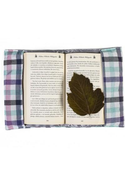 1Se2Ge Handmade Kareli Desen Kitap Kılıfı