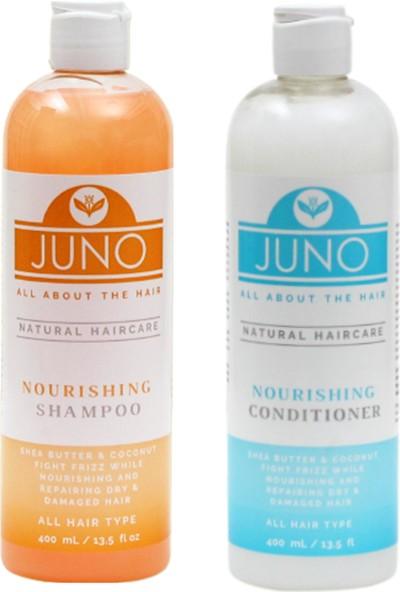 Juno Natural Nem Bakım Şampuanı & Kremi 400 ml