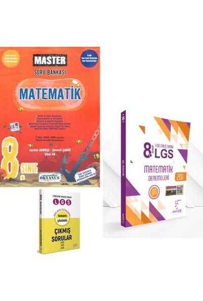 Okyanus 8. Sınıf Master Matematik Soru ve Karekök LGS 20'li Matematik Deneme + Çıkmış Sorular