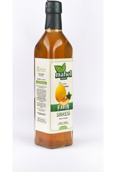 Mahel Natural Kavun Sirkesi 500 ml