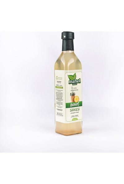 Mahel Natural Ananas Sirkesi 500 ml