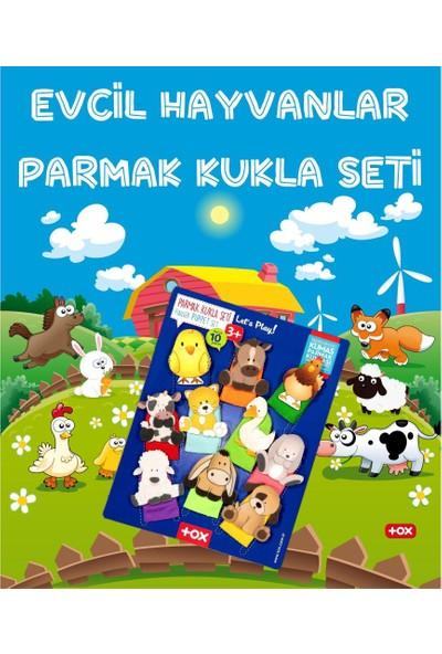 Tox 2 Set - 20 Parça Tox Vahşi Hayvanlar ve Evcil Hayvanlar Parmak Kukla 77-1/78-1