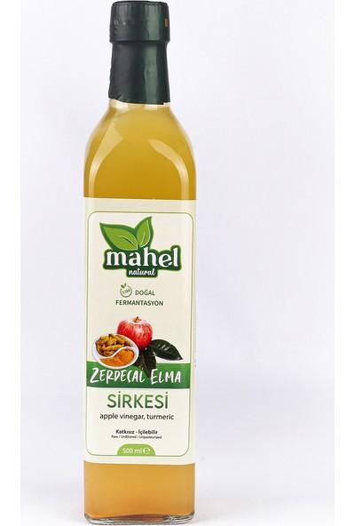 Mahel Natural Zerdeçallı Elma Sirkesi 500 ml