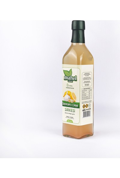 Mahel Natural Sarımsaklı Limon Sirkesi 500 ml
