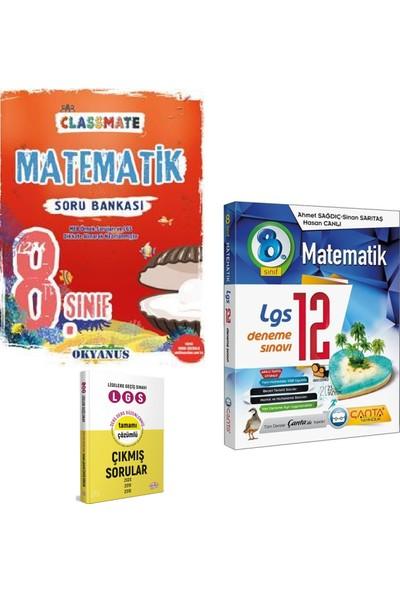 Okyanus 8. Sınıf Classmate Matematik Soru ve Çanta LGS Matematik Deneme Sınavı + Çıkmış Sorular