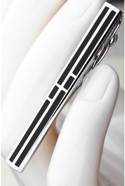 Varetta Erkek Kravat İğnesi Siyah Renk