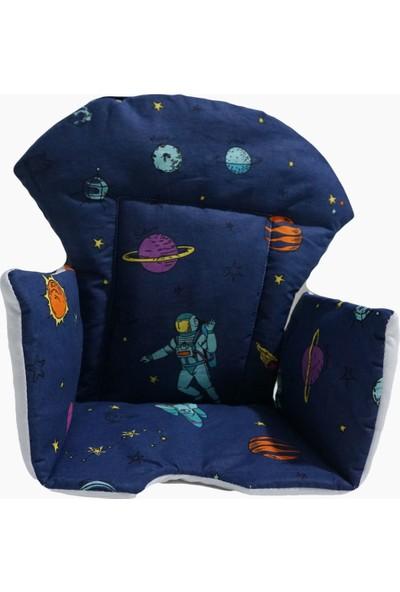 Kidsnino Mama Sandalyesi Minderi Space Galaksi