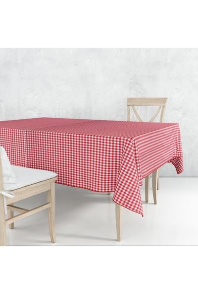 1Se2Ge Handmade Kareli Masa ve Piknik Örtüsü Sofra Bezi 170X170 cm