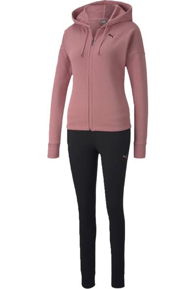 Puma Classic Hd Sweat Suit Fl cl Kadın Günlük Eşofman Takımı 58365516 Pembe