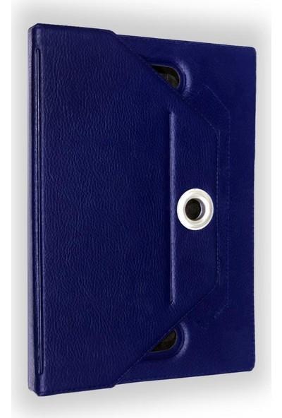I Stone 360 Dönerli Tablet Kılıfı Galaxy Tab A6 T280 Lacivert Lacivert Galaxy Tab A6