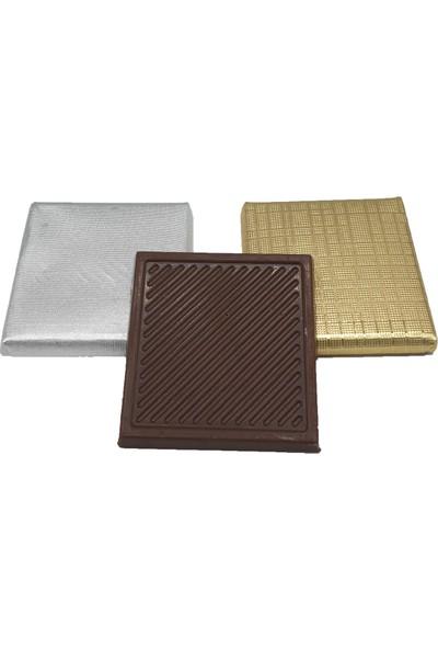 Asırlık 1453 Kişiye Özel Kız Isteme Çikolatası - Ahşap & Deri Kutu ( 48 Ad ) Beyaz