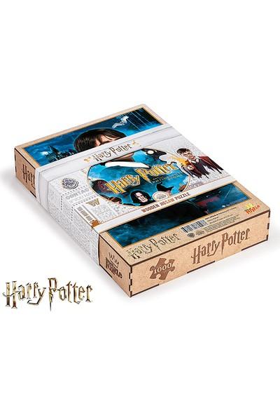 King Of Puzzle Harry Potter - Philosopher's Stone Lisanslı Ahşap Puzzle 1000 Parça