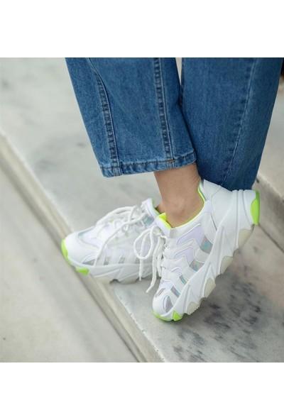 Masis Harry Beyaz Sneaker Spor