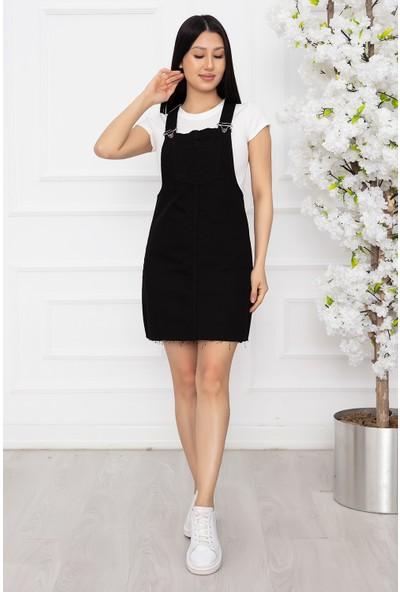 Kalopya Kadın Salopet Etek Elbise 1050