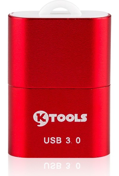 Ktools Basic Kırmızı Kart Okuyucu Micro Sd USB 3.0 Hızlı Transfer