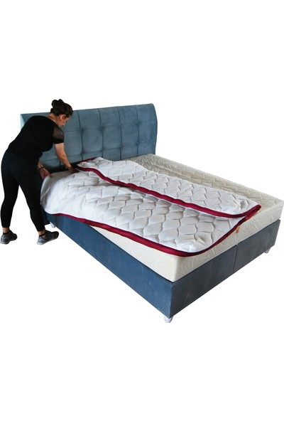 Hiss Bedding Fermuarlı Yatak Kılıfı 22 cm