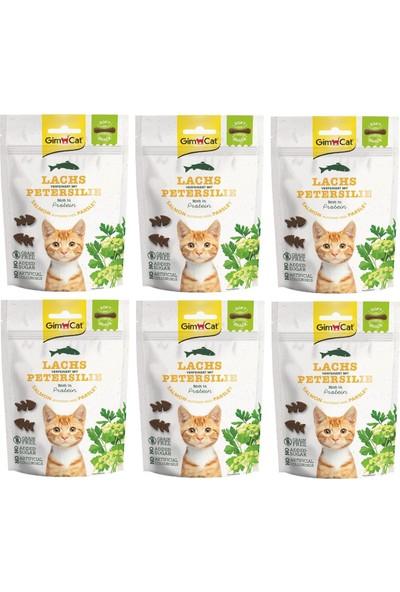 Gimcat Soft Snacks 6 Adet Salmon & Parsley Tahılsız Kedi Ödül 60GR