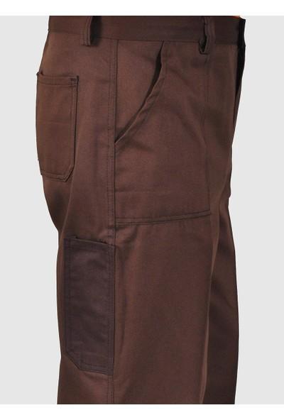 Şensel, İş Pantolonu, Kahverengi (54E955)