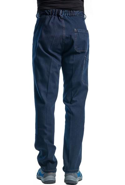 Şensel, Kışlık Kot İş Pantolonu, Lacivert (82E145)