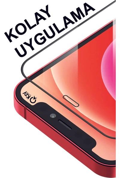Kzy Xiaomi Redmi 9A Tam Kaplayan 21D Temperli Ekran Koruyucu Cam