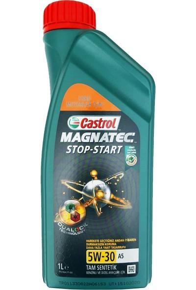 Castrol Magnatec Stop-Start 5W-30 A5 1 lt Benzinli ve Dizel Araçlar İçin Motor Yağı