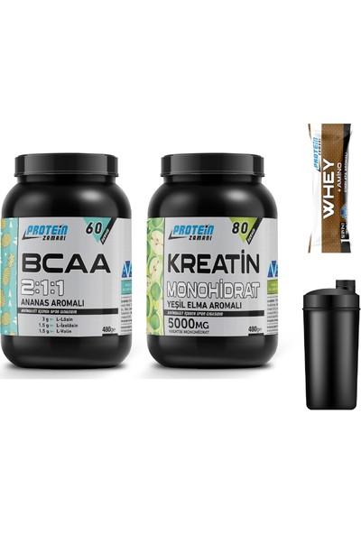 Protein Zamanı Bcaa 2:1:1 + Kreatin Monohidrat Paketi