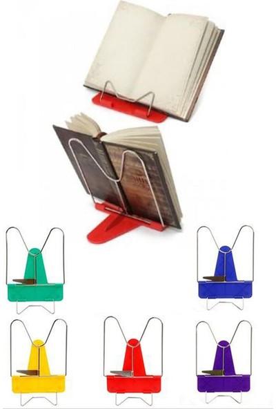 İtc Store Portatif Ayarlanabilir Metal Kitap Okuma Standı Aparatı Aleti